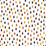 Όμορφο σχέδιο βροχής Στοκ Εικόνα