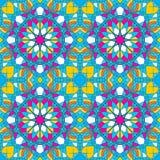 Όμορφο σχέδιο διακοσμήσεων με τη διανυσματική απεικόνιση mandala Στοκ φωτογραφίες με δικαίωμα ελεύθερης χρήσης