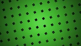 Όμορφο σχέδιο μορίων σημείων κιβωτίων κύβων, αφηρημένη fractal γεωμετρία σημείου Τεμνόμενη δημιουργικότητα, tripe καρφιτσών περισ απόθεμα βίντεο