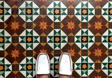 Όμορφο σχέδιο στο πάτωμα στοκ εικόνες με δικαίωμα ελεύθερης χρήσης