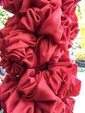 Όμορφο σχέδιο λουλουδιών backgraround από cheesecloth το ύφος Ταϊλάνδη Στοκ φωτογραφία με δικαίωμα ελεύθερης χρήσης