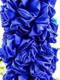 Όμορφο σχέδιο λουλουδιών backgraround από cheesecloth το ύφος Ταϊλάνδη Στοκ Φωτογραφίες