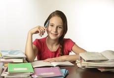 Όμορφο σχολικό κορίτσι στοκ εικόνες