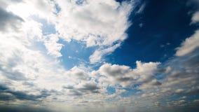 Όμορφο σύννεφο θερινής ημέρας timelapse φιλμ μικρού μήκους