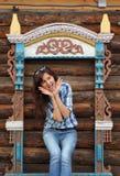 Όμορφο ταξίδι κοριτσιών στο Ροστόφ στοκ φωτογραφία