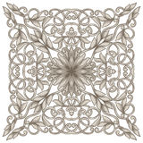 Εκλεκτής ποιότητας συμμετρικό σχέδιο Στοκ Εικόνες