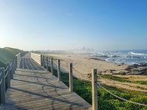 Όμορφο τοπίο άνοιξη κατά μήκος του τρόπου προσκυνήματος Αγίου James, Camino πορτογαλικά, Πορτογαλία στοκ εικόνα με δικαίωμα ελεύθερης χρήσης