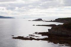 όμορφο τοπίο ακτή Ισπανία Στοκ εικόνες με δικαίωμα ελεύθερης χρήσης