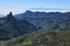 Όμορφο τοπίο βουνών θλγραν θλθαναρηα Κανάριο νησί, Ισπανία Στοκ εικόνα με δικαίωμα ελεύθερης χρήσης