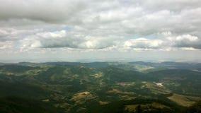 Όμορφο τοπίο βουνών στη Βουλγαρία απόθεμα βίντεο