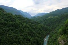 Όμορφο τοπίο βουνών στο Μαυροβούνιο στοκ φωτογραφίες