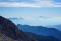Όμορφο τοπίο βουνών στοκ εικόνα