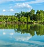 Όμορφο τοπίο λιμνών Στοκ εικόνες με δικαίωμα ελεύθερης χρήσης