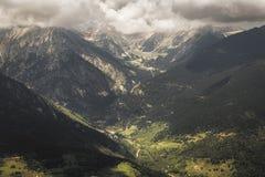 Όμορφο τοπίο, καταλανικά Πυρηναία στοκ εικόνα με δικαίωμα ελεύθερης χρήσης