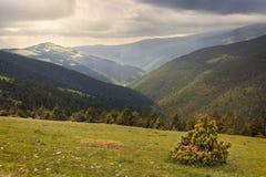 Όμορφο τοπίο, καταλανικά Πυρηναία στοκ φωτογραφία με δικαίωμα ελεύθερης χρήσης