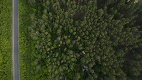 Όμορφο τοπίο με έναν κηφήνα Στοκ φωτογραφίες με δικαίωμα ελεύθερης χρήσης