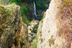 Όμορφο τοπίο με τους λόφους και τα βουνά, ronda, Ισπανία Στοκ εικόνα με δικαίωμα ελεύθερης χρήσης