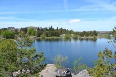 Όμορφο τοπίο ποταμών Στοκ φωτογραφία με δικαίωμα ελεύθερης χρήσης