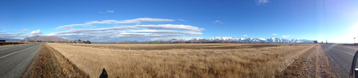 Όμορφο τοπίο σε κεντρικό Otago στοκ φωτογραφία με δικαίωμα ελεύθερης χρήσης
