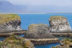 Όμορφο τοπίο σε Arnarstapi, χερσόνησος Snafellsnes, Ισλανδία Στοκ Εικόνες