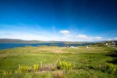 όμορφο τοπίο σκωτσέζικα Στοκ Φωτογραφίες