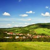 Όμορφο τοπίο στα βουνά το καλοκαίρι Δημοκρατία της Τσεχίας - λευκά Carpathians - Ευρώπη στοκ εικόνα με δικαίωμα ελεύθερης χρήσης