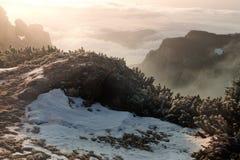 Όμορφο τοπίο στα βουνά Στοκ Εικόνα