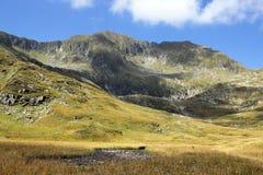 Όμορφο τοπίο στα βουνά Fagaras Στοκ Εικόνα