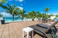 Όμορφο τοπίο στην άσπρη παραλία Boracay Στοκ Φωτογραφία