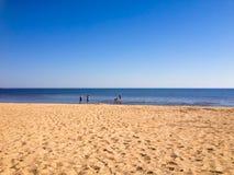 Όμορφο τοπίο της παραλίας Στοκ εικόνα με δικαίωμα ελεύθερης χρήσης