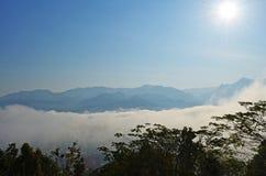 Όμορφο τοπίο της Ταϊλάνδης Στοκ εικόνα με δικαίωμα ελεύθερης χρήσης