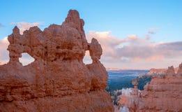 Όμορφο τοπίο του φαραγγιού του Bryce, Γιούτα, ΗΠΑ στοκ φωτογραφία
