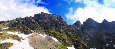 Όμορφο τοπίο των βουνών Tatra Στοκ φωτογραφία με δικαίωμα ελεύθερης χρήσης