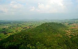 Όμορφο τοπίο φύσης, βουνό vindhya, chitrakoot, Ινδία στοκ φωτογραφία με δικαίωμα ελεύθερης χρήσης