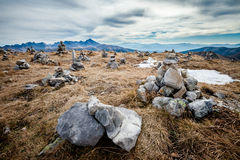 Όμορφο τοπίο Czerwone Wierchy βουνών Tatry Στοκ φωτογραφία με δικαίωμα ελεύθερης χρήσης