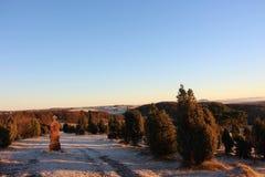 Όμορφο τοπίο eifel στοκ φωτογραφία