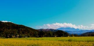 Όμορφο τοπίο Nepali Στοκ εικόνες με δικαίωμα ελεύθερης χρήσης