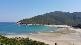 Όμορφο τοπίο, Sai Kung, Χονγκ Κονγκ στοκ εικόνες