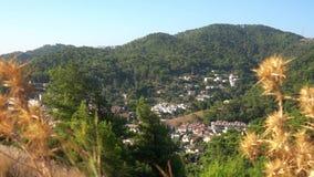 Όμορφο τουρκικό τοπίο βουνών, Marmaris απόθεμα βίντεο