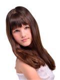 όμορφο τρίχωμα κοριτσιών λί& Στοκ εικόνες με δικαίωμα ελεύθερης χρήσης