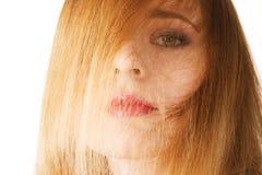 όμορφο τρίχωμα προσώπου ο&io Στοκ εικόνα με δικαίωμα ελεύθερης χρήσης