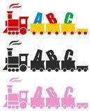 Όμορφο τραίνο παιχνιδιών Στοκ Εικόνες