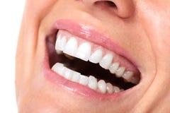 όμορφο υγιές χαμόγελο Στοκ φωτογραφία με δικαίωμα ελεύθερης χρήσης