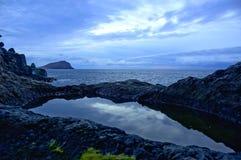 Όμορφο υπόβαθρο από το Los Abrigos Στοκ εικόνα με δικαίωμα ελεύθερης χρήσης
