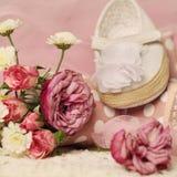 Όμορφο υπόβαθρο για την κάρτα γενεθλίων κοριτσάκι Στοκ φωτογραφία με δικαίωμα ελεύθερης χρήσης