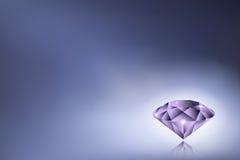 Πορφυρό διαμάντι Στοκ Εικόνα