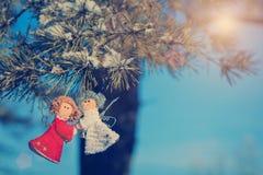 Όμορφο υπόβαθρο χειμερινών selebrations Στοκ Εικόνες