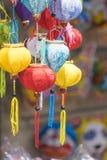Όμορφο φανάρι στην κινεζική πόλη Στοκ Εικόνες
