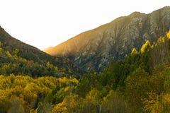 Όμορφο φθινόπωρο σε Arrowtown Νέα Ζηλανδία Στοκ φωτογραφία με δικαίωμα ελεύθερης χρήσης