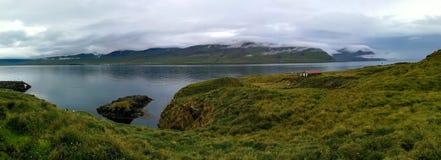 Όμορφο φυσικό τοπίο της Ισλανδίας Στοκ Φωτογραφία